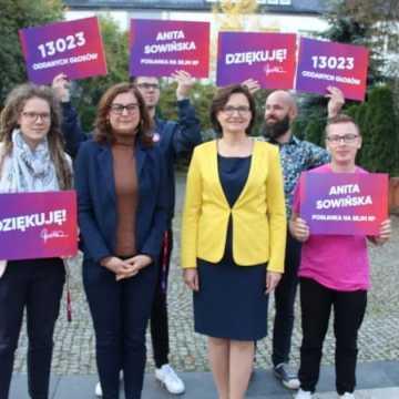 Posłanka Anita Sowińska zaprasza mieszkańców Radomska do współpracy