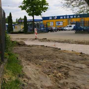 Trwa przebudowa ul. Św. Rozalii w Radomsku