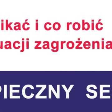 """Akcja """"Bezpieczny senior"""" w Radomsku"""