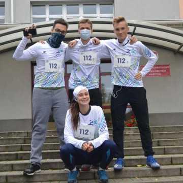 Uczniowie z I LO w Radomsku wzięli udział w IV Ogólnopolskim Biegu Erasmusa