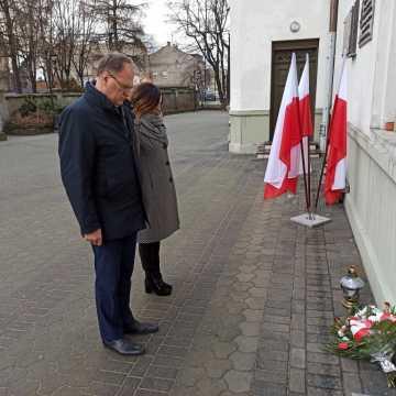 78 lat temu powstała Armia Krajowa. Prezydent Jarosław Ferenc złożył kwiaty pod pamiątkową tablicą