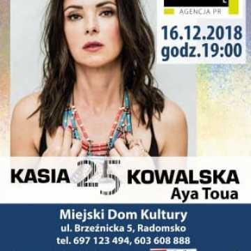 Zaproszenie na koncert Kasi Kowalskiej