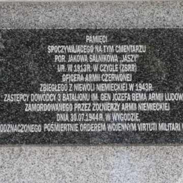 Upamiętniono radzieckiego bohatera wojennego