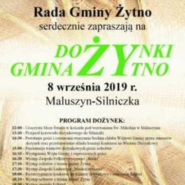 Zaproszenie na dożynki w gminie Żytno