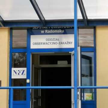 33 osoby zakażone koronawirusem przebywają w szpitalu w Radomsku