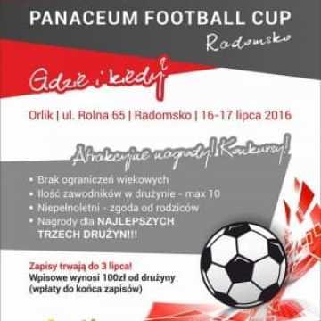 Panaceum Fitness Club zaprasza na turniej piłki nożnej
