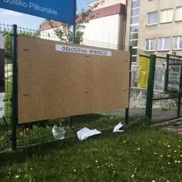 Bezpłatne miejsca na plakaty wyborcze