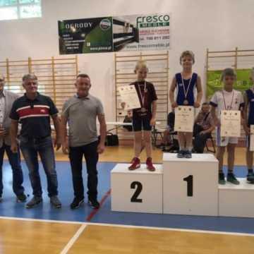 Zapaśnicy ZKS Radomsko z medalami mistrzostw województwa