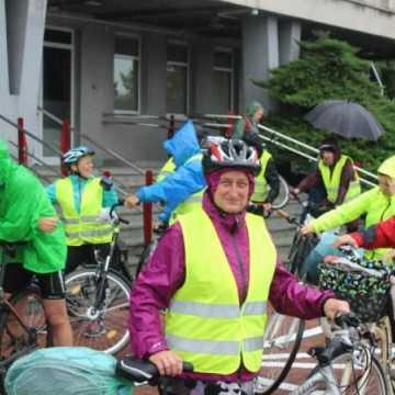 Deszcz nie przeszkodził rowerzystom