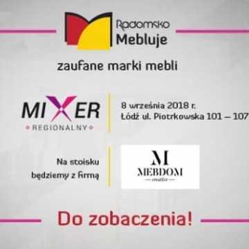 Meble z Radomska na Mixerze Regionalnym w Łodzi