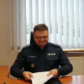 Nowy zastępca komendanta radomszczańskiej policji rozpoczął pracę