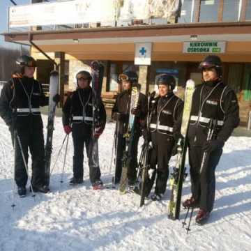Policja czuwa na bezpieczeństwem narciarzy