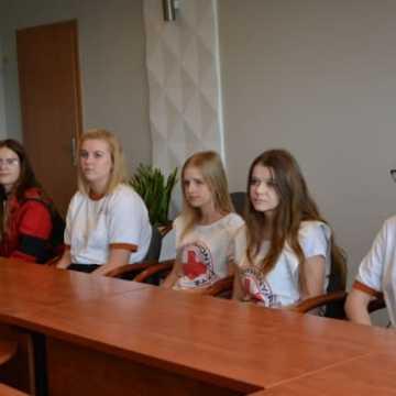 O współpracy miasta z PCK