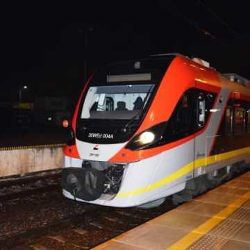 Pierwszy pociąg ŁKA wjechał na dworzec w Radomsku