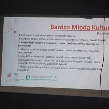"""Spotkanie w MDK na temat projektu """"Bardzo Młoda Kultura"""""""