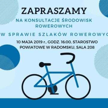 Konsultacje w sprawie szlaków rowerowych