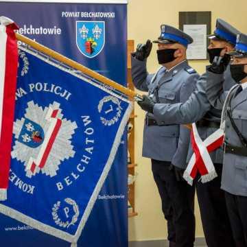 Bełchatów: Święto Policji - były awanse i życzenia