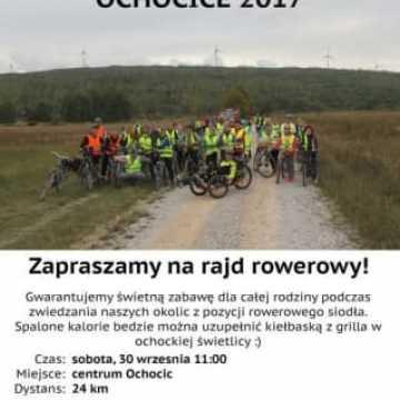 Rodzinny rajd rowerowy Ochocice 2017