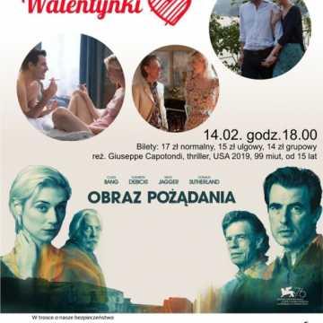 """Filmowe Walentynki w kinie """"Pasja"""" w Radomsku"""