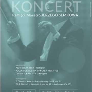 Polska Orkiestra Sinfonia Iuventus  z koncertem pamięci maestro Jerzego Semkowa