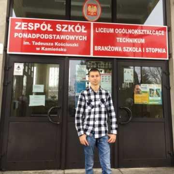 """""""Zawodowiec"""" z Kamieńska ze stypendium marszałka"""