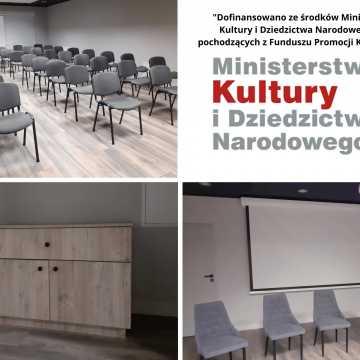 Doposażono Gminny Ośrodek Kultury w Kodrębie