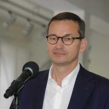 Premier Mateusz Morawiecki z wizytą w Radomsku
