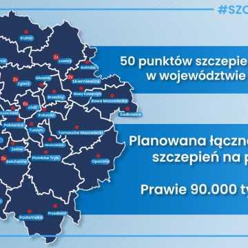 Szczepienia w województwie i całym kraju nabierają tempa