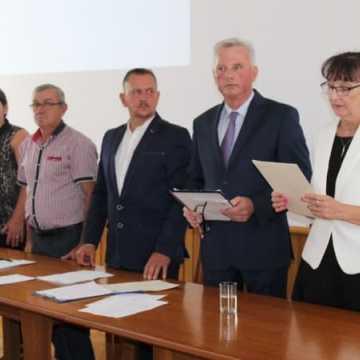 Zaprzysiężenie i ślubowanie nowej burmistrz Przedborza – Wiesławy Janosik