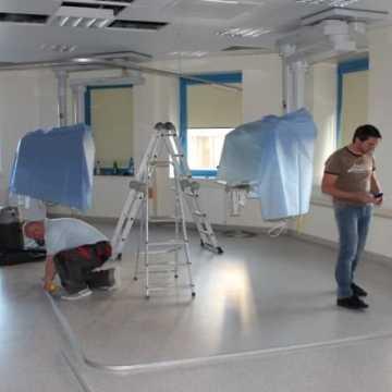 W szpitalu montują nową aparaturę medyczną