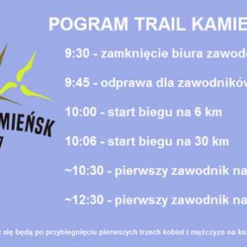 W weekend kolejna edycja Trail Kamieńsk