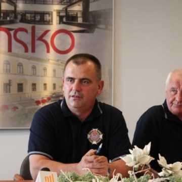 Zebranie zarządu miejskiego OSP