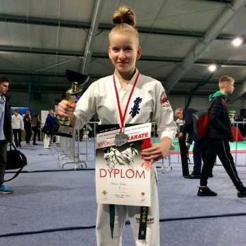 Natalia Dudek wicemistrzynią Polski w karate