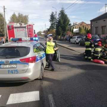 Policja apeluje do świadków wypadku na ul. Przedborskiej w Radomsku