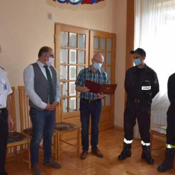 Nowy sprzęt dla strażaków-ochotników z Kamieńska i Gorzędowa