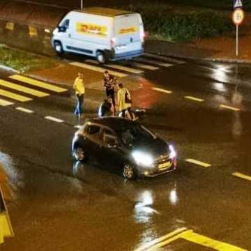 Przy ulicy Tysiąclecia w Radomsku potrącono pieszego