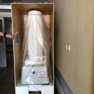 Robot dba o czystość w Szpitalu Powiatowym w Radomsku