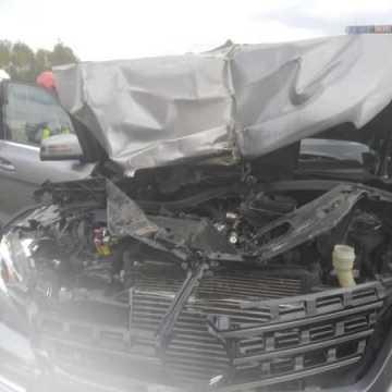 Na DK1 zderzenie trzech pojazdów