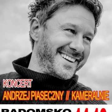 """Andrzej Piaseczny wystąpi """"kameralnie"""" w MDK w Radomsku"""