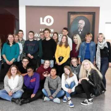 Młodzież z Niemiec w I LO w Radomsku