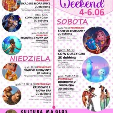 Bajkowy Weekend (Dzień Dziecka) w MDK w Radomsku