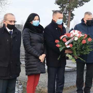 Władze powiatu upamiętniły Andrzeja Pełkę - ofiarę pacyfikacji kopalni Wujek