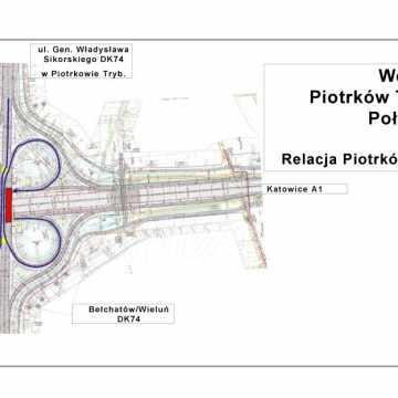 Zmiany na węzłach A1 w PiotrkowieTrybunalskim