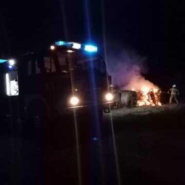 Jednej nocy dwa pożary w gminie Kamieńsk