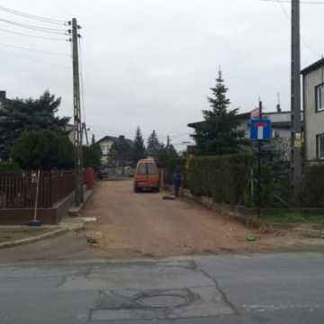 Remont ulicy ks. Karola Kościowa