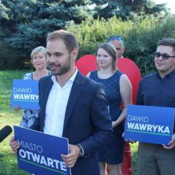 Dawid Wawryka przedstawił jedynki na listach