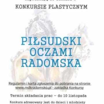 Konkurs plastyczny: Piłsudski oczami Radomska