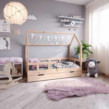 Łóżka domki dla dzieci. Sprawdź co je wyróżnia
