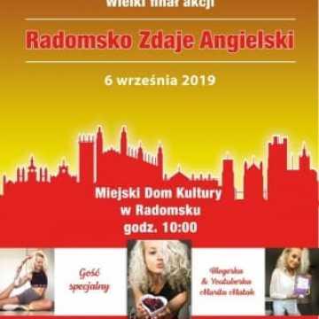 """Zbliża się finał akcji """"Radomsko zdaje angielski"""""""