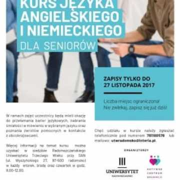 Językowe kursy dla seniorów
